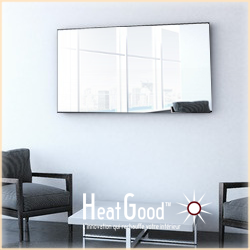 choisir un radiateur lectrique horizontal de 120 cm de. Black Bedroom Furniture Sets. Home Design Ideas